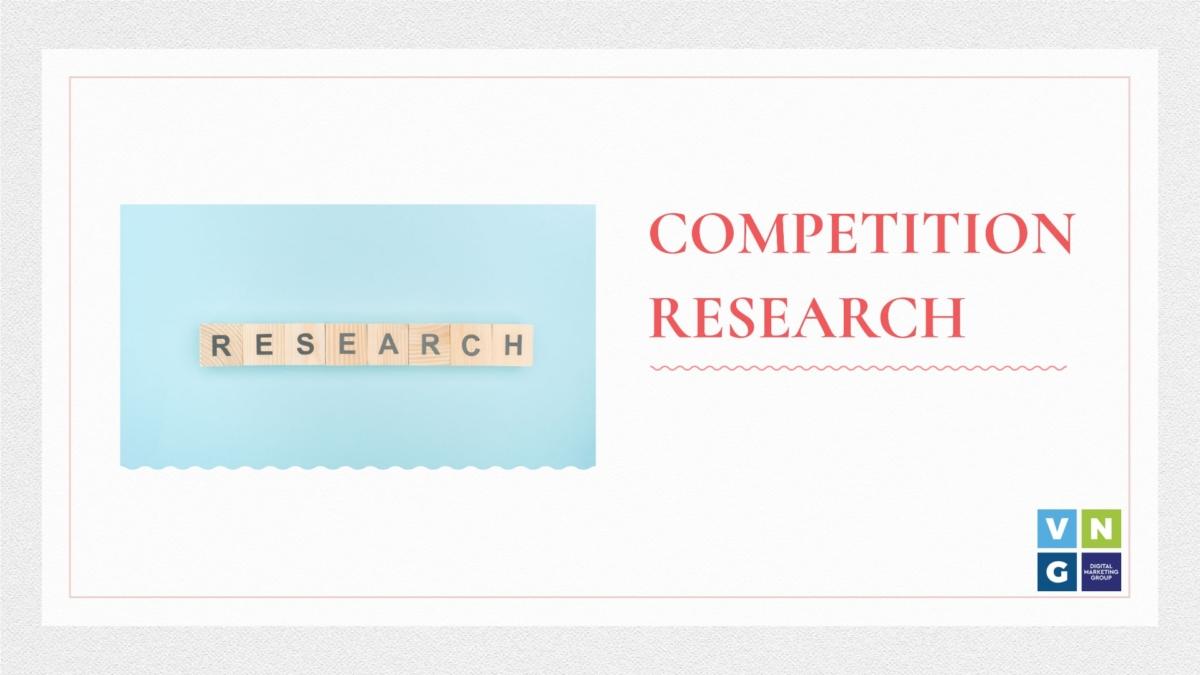 έρευνα αγοράς και έρευνα ανταγωνισμού